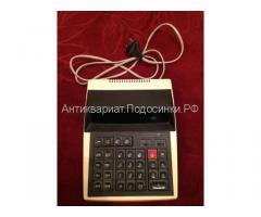 Счетная машинка,калькулятор Электроника МК 44