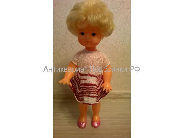Кукла СССР фабрика Кругозор или Звездочка