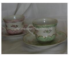 чайные пары Дулево 1956 г