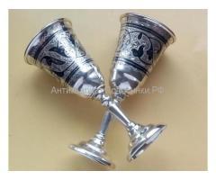 продам серебряные рюмки