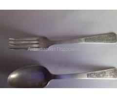 Продам серебряные столовые ложки и вилки