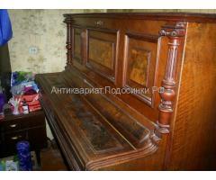 пианино 1860 G.WOLKENHAUER