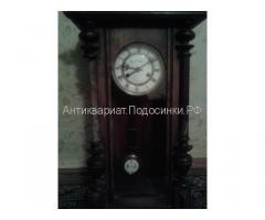 Le roi a Paris 19 век. настенные часы