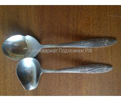 Ложка и ложка для соуса, СССР
