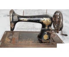 Cтарая швейная машинка Зингер 1906 г. в