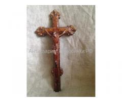 Крест католический настенный,резной