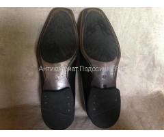 Черные мужские ботинки кожа
